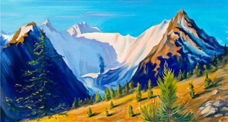 Утро Белой Горы